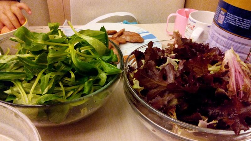 La (Les) Salade(s) du jardin